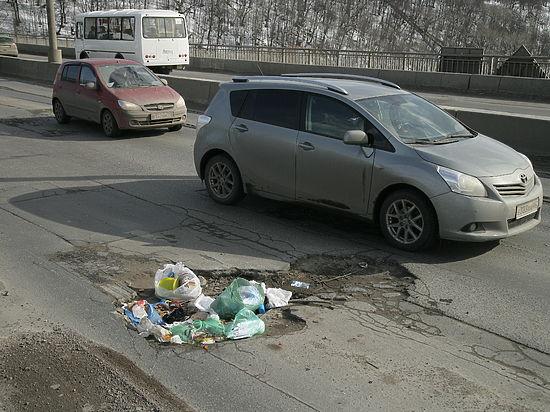Нижний Новгород потратит 36 млн. руб.  надорожные ямы