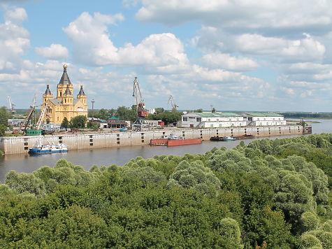 Православный парк возведут наСтрелке вНижнем Новгороде