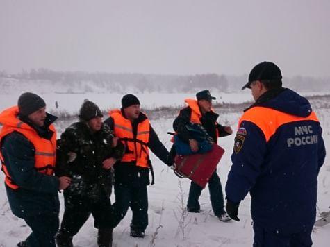 ВНижегородской области 77-летний рыбак провалился под лед
