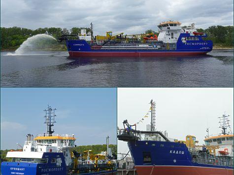 «Красное Сормово» передало Росморпорту последнее судно изсерии земснарядов