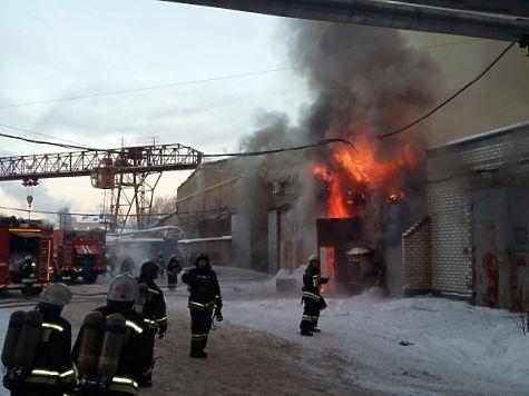 Вскладском помещении вНижнем Новгороде устранено открытое горение