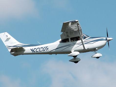 ВСтригино приземлился самолет без документов