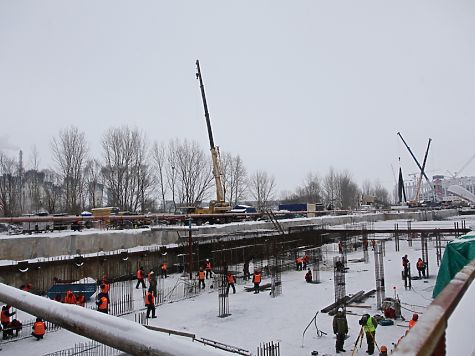 Нижегородская станция метро «Стрелка» готова на55%