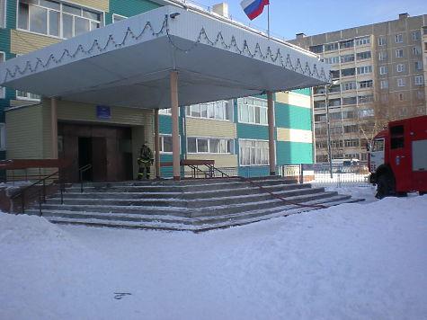 Школа горела вВыксе Нижегородской области