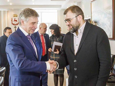 Известный артист Михаил Пореченков предложил провести вНижнем Новгороде кинофестиваль