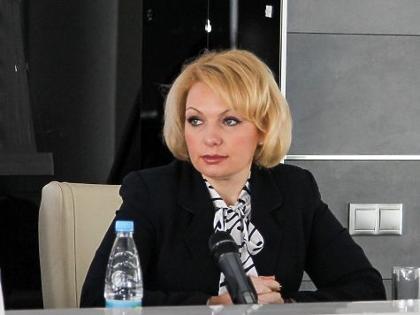 Ирина Негребецкая ушла споста директора департамента внешних связей
