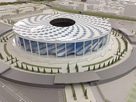 Стадион наСтрелке будет площадкой для празднования 800-летия города