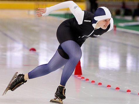 Конькобежка Дарья Качанова три раза стала первой насоревнованиях в российской столице