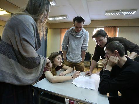 Начались репетиции спектакля попьесе «Моя старшая сестра».
