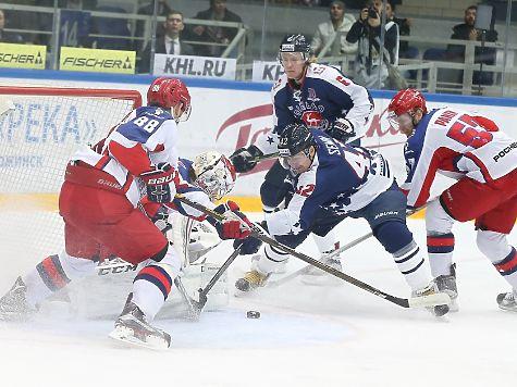 ЦСКА в 3-й раз подряд одержал победу постоянный чемпионат КХЛ