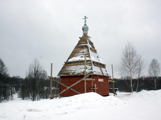 Власти Навашинского района требуют снести часовню, построенную жителями