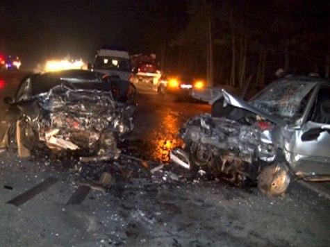 Два человека погибли итрое ранены встрашном ДТП вДзержинске