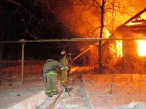 Три человека погибли впроцессе пожара вНижегородской области