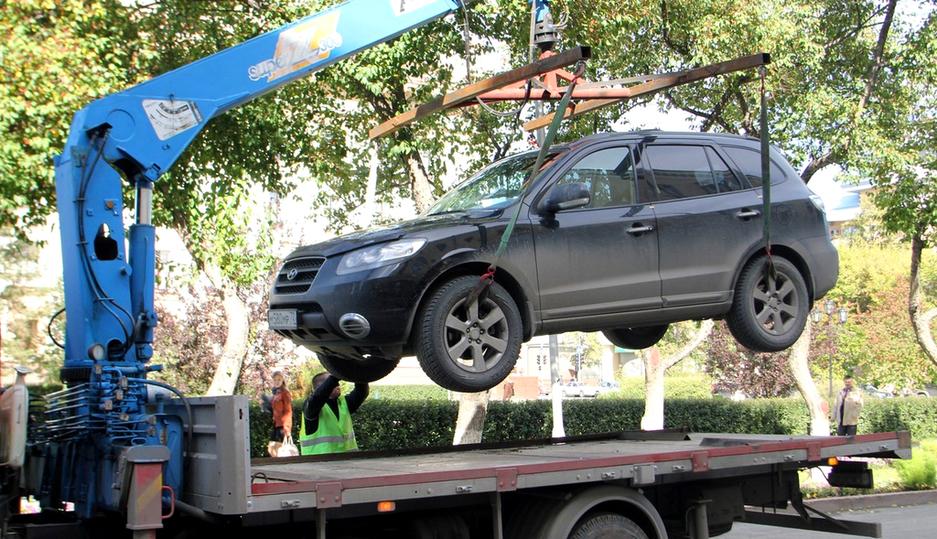 Утверждены новые тарифы наэвакуацию авто вНижегородской области