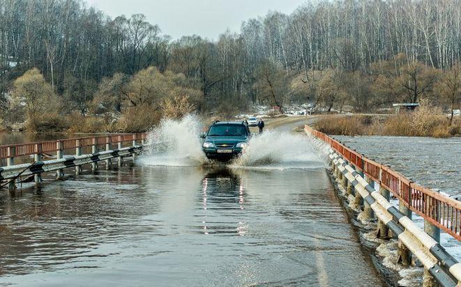 ВНижегородской области начался паводок: затоплен 1-ый мост