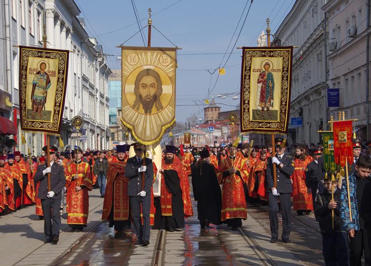 ВНижнем Новгороде состоится Пасхальный крестный ход