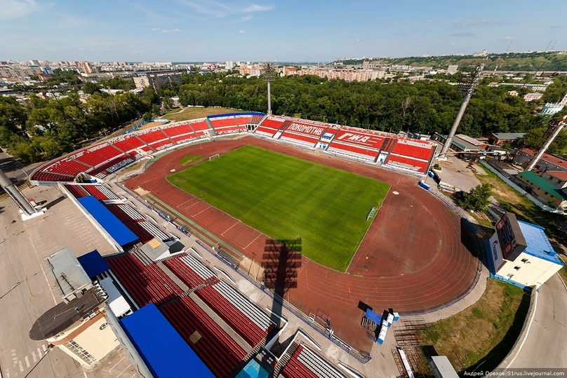 Стадион «Локомотив» вНижнем Новгороде починят доконца года