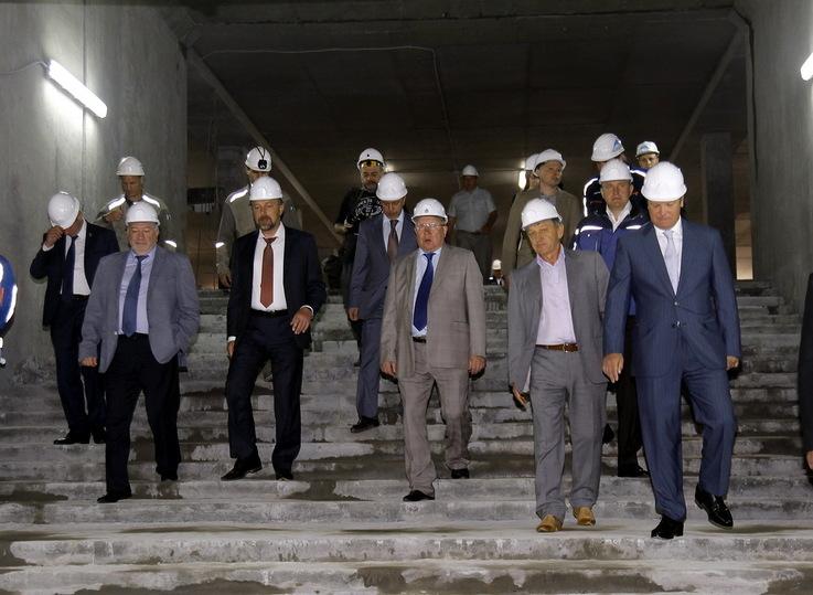 «Наочереди строительство метро доСенной ивСормово»— Валерий Шанцев