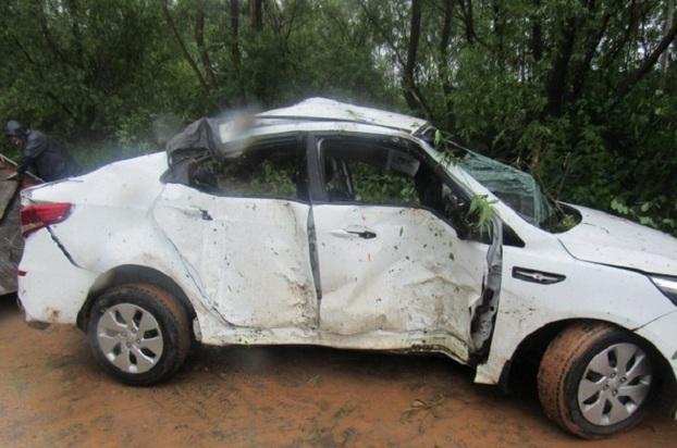4 человека погибли после опрокидывания машины под Нижним Новгородом