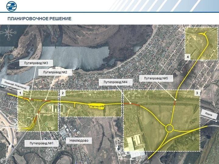 Часть борской транспортной системы— дорогу Неклюдово— Золотово— начнут строить в следующем году