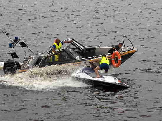 Завершился чемпионат по водно-моторным соревнованиям среди команд ГИМС МЧС