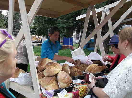Фестиваль русского хлеба прошел в Нижнем Новгороде