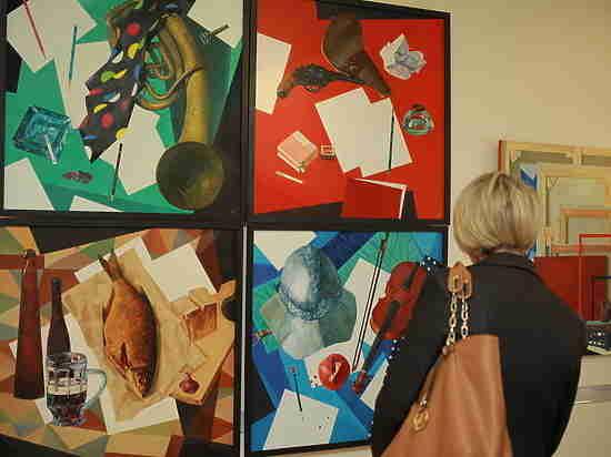 Открылась традиционная выставка Нижегородского отделения Союза художников России