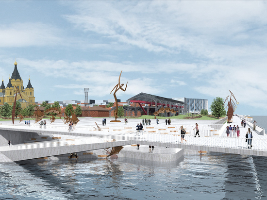 На «Эко-Береге» в Нижнем Новгороде представят будущее «слияния рек»