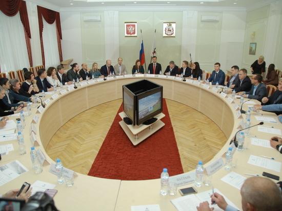 Состоялось первое заседание Общественной палаты Нижнего Новгорода
