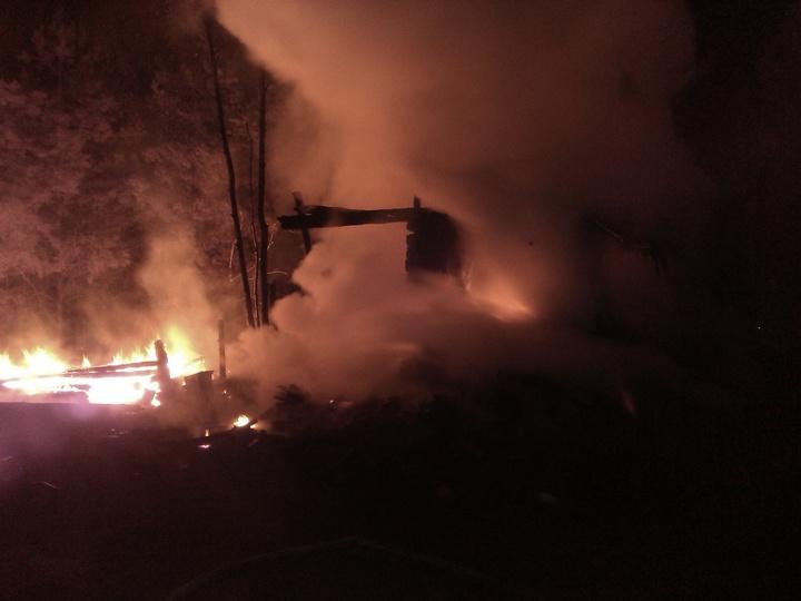 Двое мужчин погибли напожаре вВоскресенском районе
