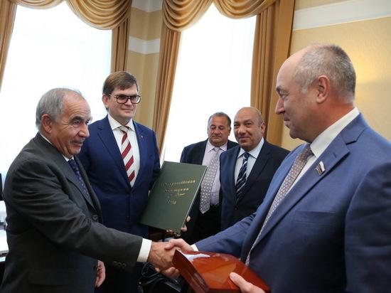 Евгений Лебедев встретился с чрезвычайным и полномочным послом Республики Мальта