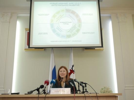Глава Нижнего Новгорода отчиталась о 100 днях работы на посту