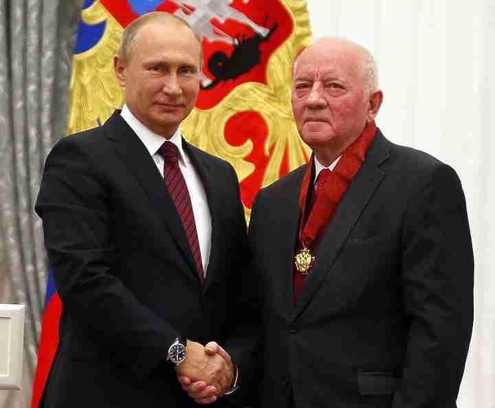 Миллер стал 3-м обладателем ордена «Зазаслуги перед Отечеством» среди глав «Газпрома»