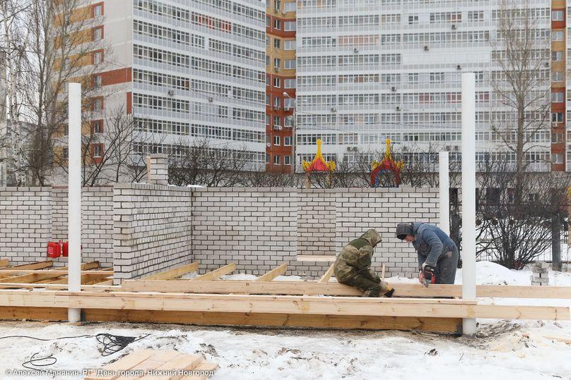 Детский парк наулице Сергея Есенина планируют открыть клету 2018 года