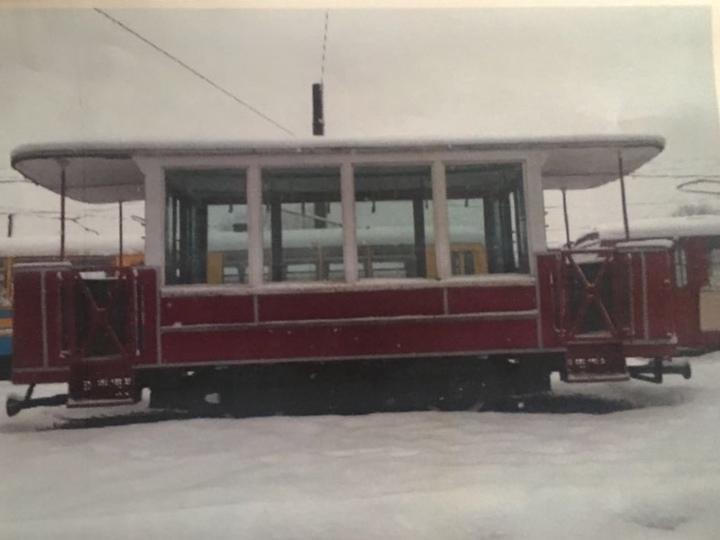 Наулице Большой Покровской появился стародавний трамвай