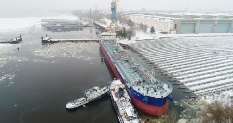 Четвертый танкер-химовоз спущен наводу вНижнем Новгороде