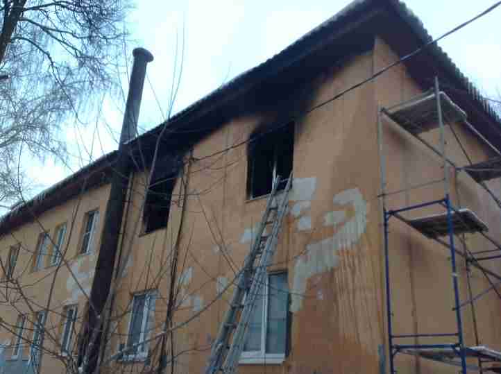 Трое детей погибли врезультате сильного возгорания вквартире вНижегородской области