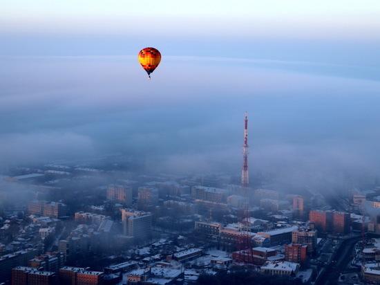 Корреспондент «МК» поднялся на воздушном шаре над Нижним Новгородом