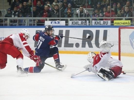 «Торпедо» вовертайме одолело «Витязь» вматче постоянного чемпионата КХЛ