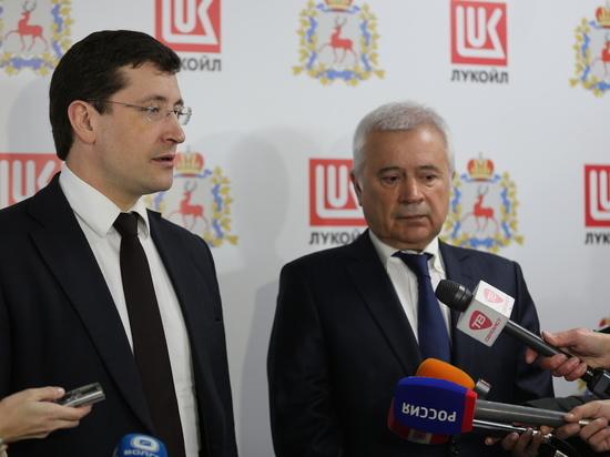 Глава Нижегородской области посетил кстовский завод «Лукойл»
