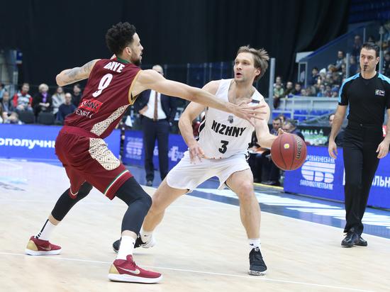 БК «Нижний Новгород» непрошел вполуфинал Кубка Европы