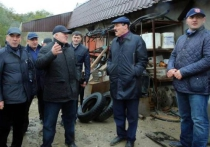 Рамазан Абдулатипов объехал с инспекцией прилегающие к Махачкале и Каспийску территории
