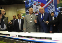 Экспозиция РЖД на III Международном бизнес-саммите была одной из самых масштабных